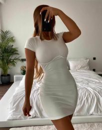 Obleka - koda 12833 - bela
