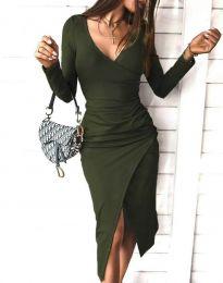 Obleka - koda 4769 - olivna