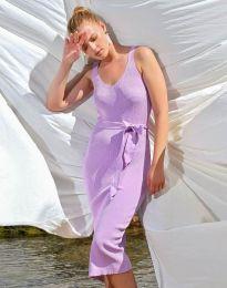 Obleka - koda 2721 - vijolična