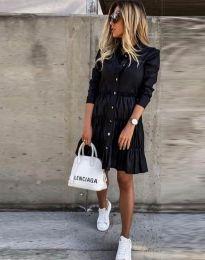 Obleka - koda 1366 - 1 - črna