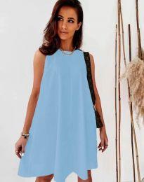 Obleka - koda 9862 - svetlo modra