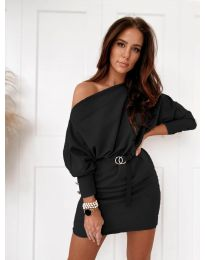 Obleka - koda 4442 - črna