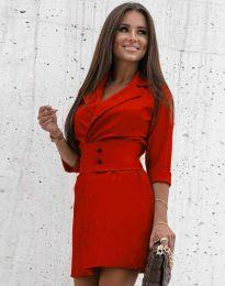 Obleka - koda 1356 - rdeča