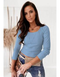 Bluza - koda 8365 - svetlo modra