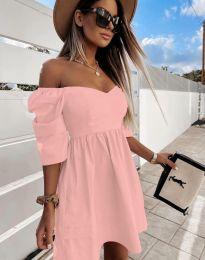 Obleka - koda 7413 - roza