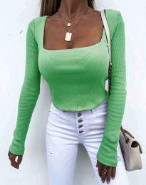 Bluza - koda 1654 - 3 - svetlo zelena