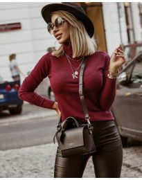 Bluza - koda 8861 - 5 - bordo