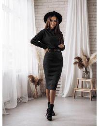 Obleka - koda 7719 - črna