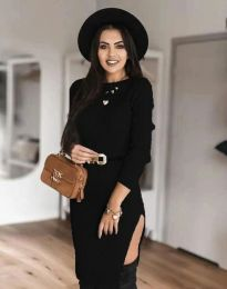 Obleka - koda 0956 - črna