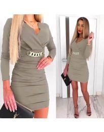 Obleka - koda 8999 - siva