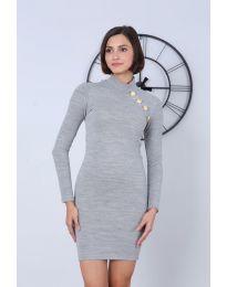 Obleka - koda 7099 - 5 - siva