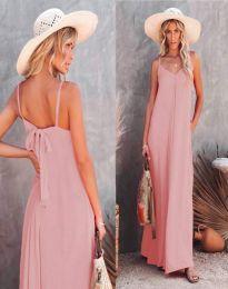 Obleka - koda 4673 - svetlo roza