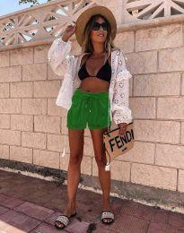 Kratke hlače - koda 6614 - 2 - zelena