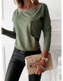 Bluza - koda 0382 - zelena