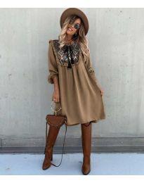 Obleka - koda 958 - rjava
