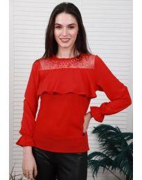 Bluza - koda 0628 - 4 - rdeča