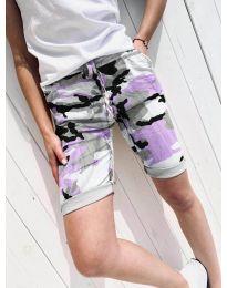 Kratke hlače - koda 5077-3 - večbarvna
