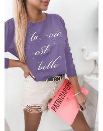 Bluza - koda 3997 - vijolična