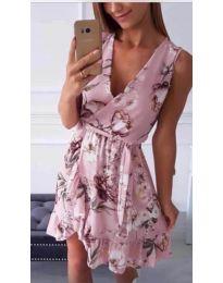 Obleka - koda 739 - roza