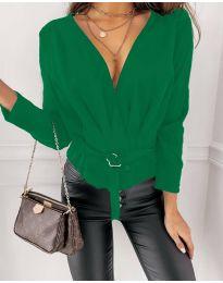 Bluza - koda 5525 - zelena