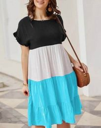 Obleka - koda 1039 - 4 - večbarvna