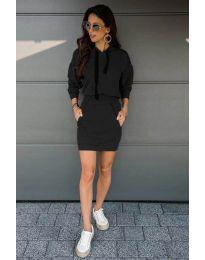 Obleka - koda 999 - črna