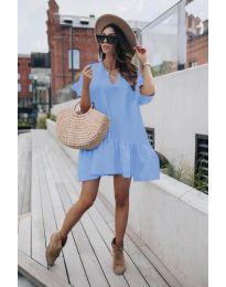 Obleka - koda 6868 - svetlo modra