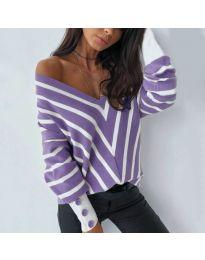 Bluza - koda 6311 - vijolična