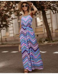 Obleka - koda 9852 - večbarvna