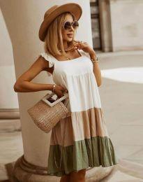 Obleka - koda 2810 -večbarvna