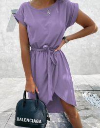 Obleka - koda 2074 - svetlo vijolična