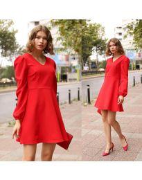 Obleka - koda 1478 - 1 - rdeča