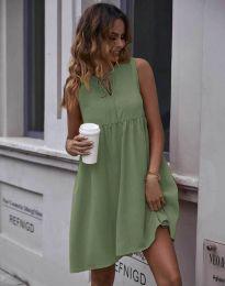 Obleka - koda 0286 - olivno zelena