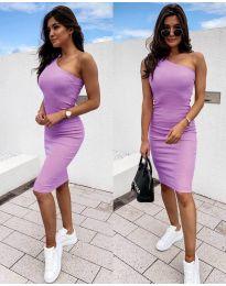 Obleka - koda 0208 - vijolična