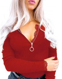 Bluza - koda 4046 - 3 - rdeča