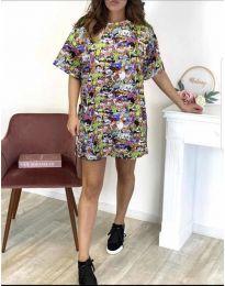 Obleka - koda 119 - večbarvna