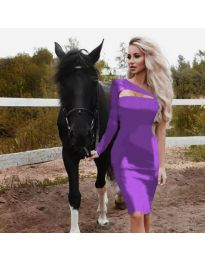 Obleka - koda 955 - vijolična