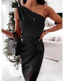 Obleka - koda 6442 - 2 - črna