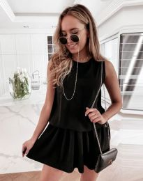 Obleka - koda 6612 - 1 - črna