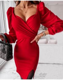 Obleka - koda 2595 - rdeča