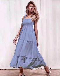 Obleka - koda 1729 - svetlo modra
