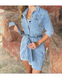 Obleka - koda 0459 - 1 - modra