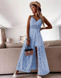 Obleka - koda 2704 - svetlo modra