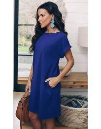 Obleka - koda 659 - temno modra