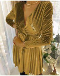 Obleka - koda 8619 - 1 - rumena