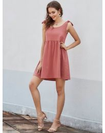 Obleka - koda 2255 - oranžna