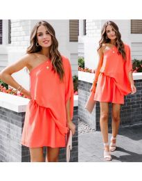 Obleka - koda 9933 - oranžna