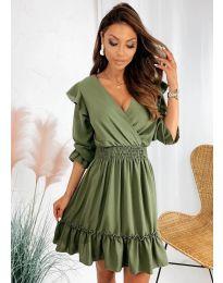 Obleka - koda 8554 - zelena