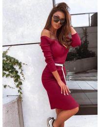Obleka - koda 4720 - bordo