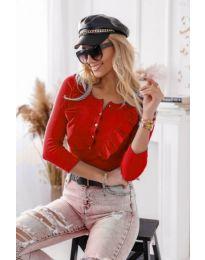 Bluza - koda 9792 - 1 - rdeča